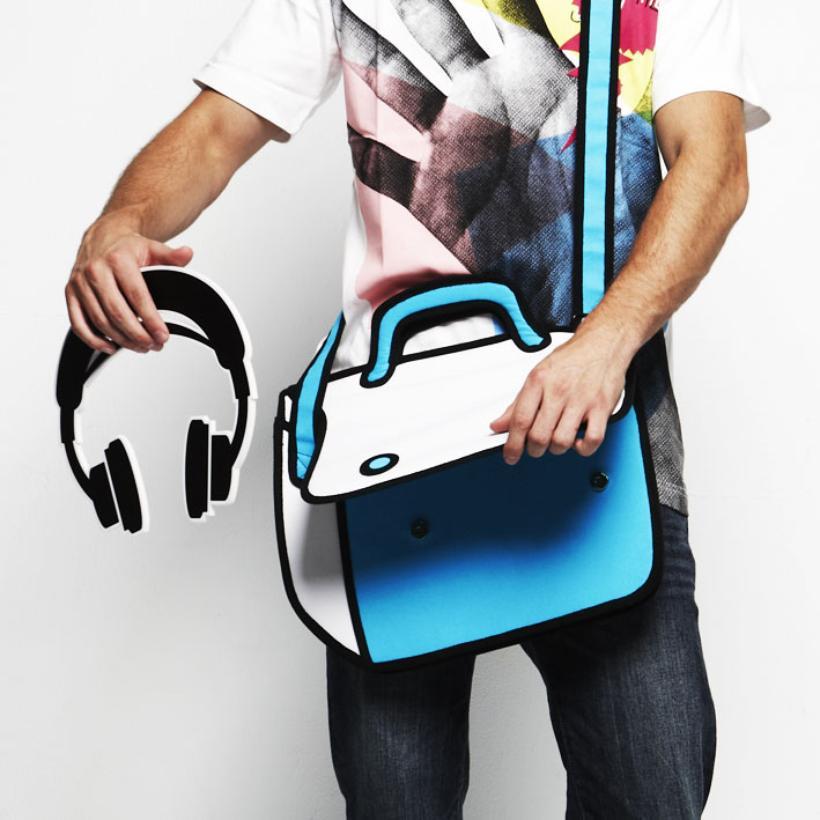 Jump From Paper Bags Messenger Bag